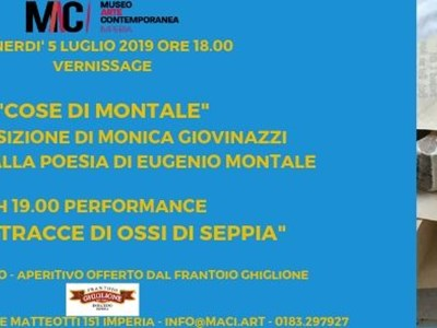 COSE DI MONTALE - An exhibition by Monica Giovinazzi